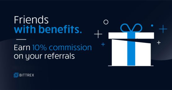 Зарабатывайте 10% с реферальной программы Bittrex пожизненно