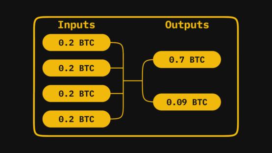 Структура транзакции в Bitcoin