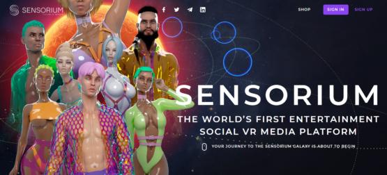 VR-платформа Sensorium на бирже криптовалют KuCoin