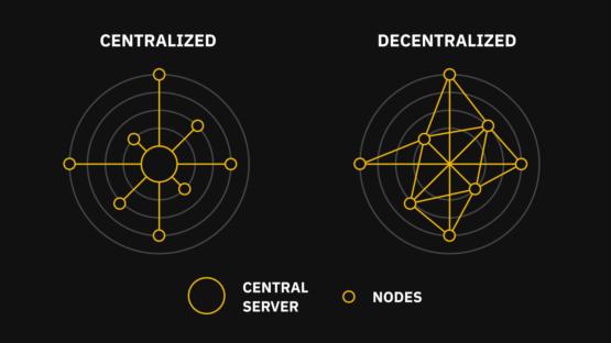 У централизованных финансов есть точка отказа в виде сервера, у децентрализованных криптовалют такой точки нет, так как есть множество нод-узлов