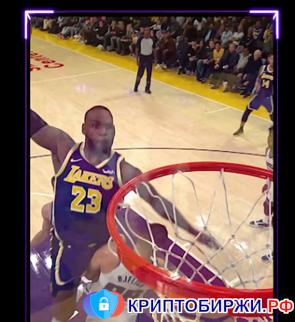NFT от проекта NBA Top Shot